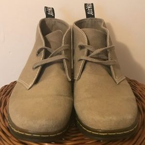 Dr. Martens Henrie Canvas Boots Brown & Taupe
